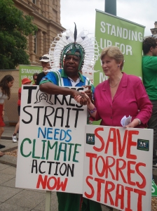 Mr Thomas Sebasio & Senator Christine Milne